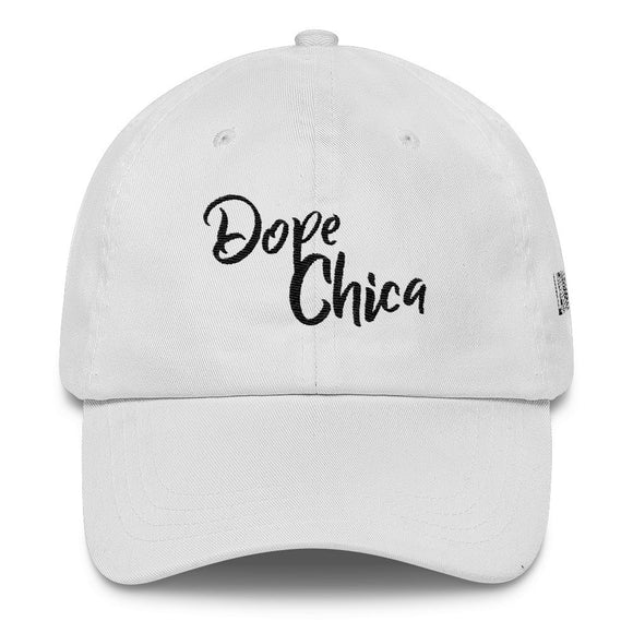 Dope Chica Light Classic Dad Cap