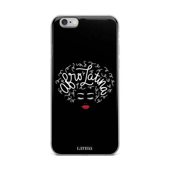 Afro Latina Black iPhone 6/6s, 6/6s Plus Case