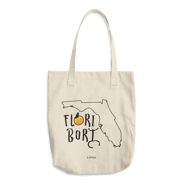 Flori Bori Cotton Tote Bag