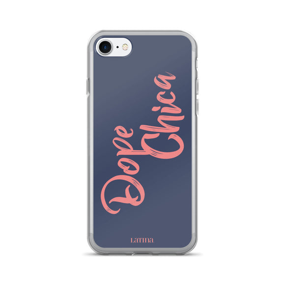 Dope Chica in Pink iPhone 7/7 Plus Case
