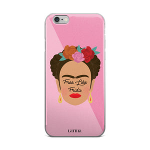 Free Like Frida iPhone 6/6s, 6/6s Plus Case
