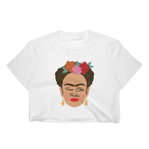 Free Like Frida Crop Top