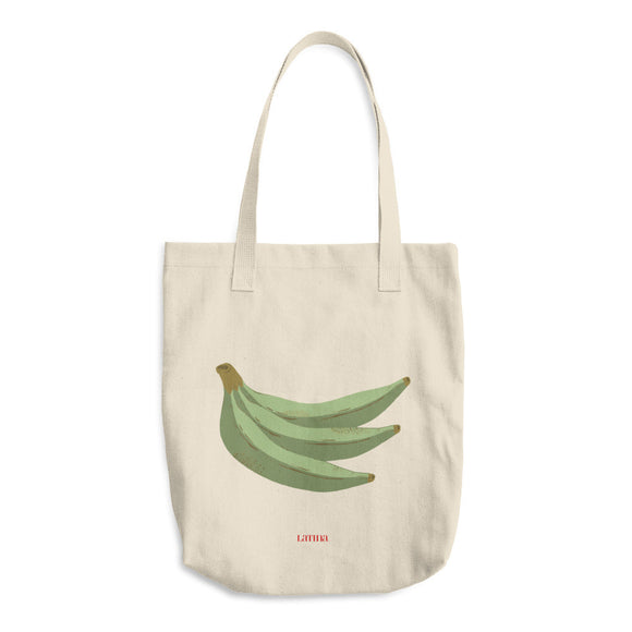 Platanos Cotton Tote Bag