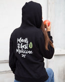 Unisex Plants are the Best Medicine Hoodie