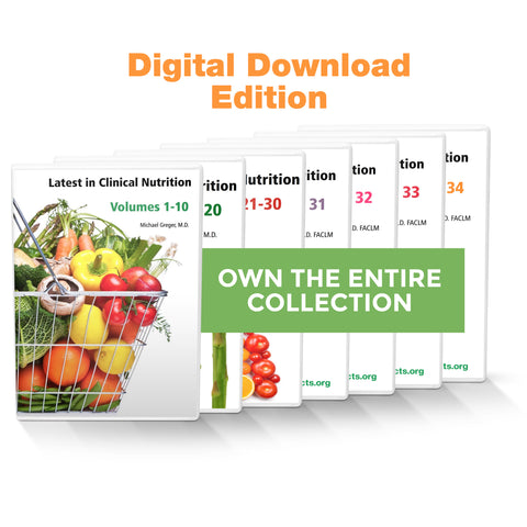 Complete Latest in Clinical Nutrition - Volumes 1-34 [Digital Download]