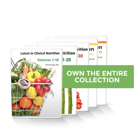 Complete Latest in Clinical Nutrition - Volumes 1-41