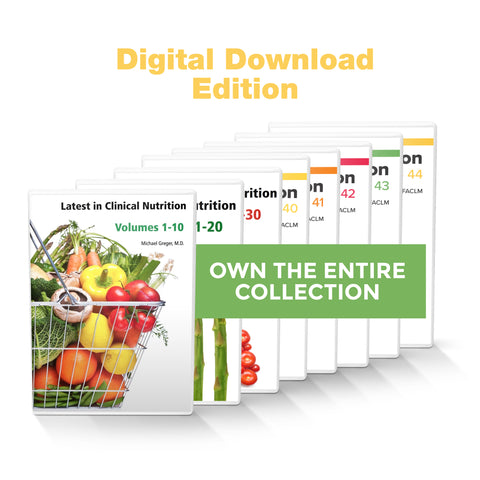 Complete Latest in Clinical Nutrition - Volumes 1-44 [Digital Download]