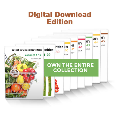 Complete Latest in Clinical Nutrition - Volumes 1-45 [Digital Download]