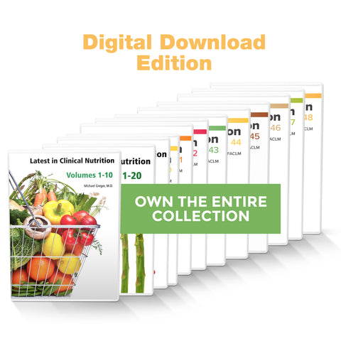 Complete Latest in Clinical Nutrition - Volumes 1-48 [Digital Download]