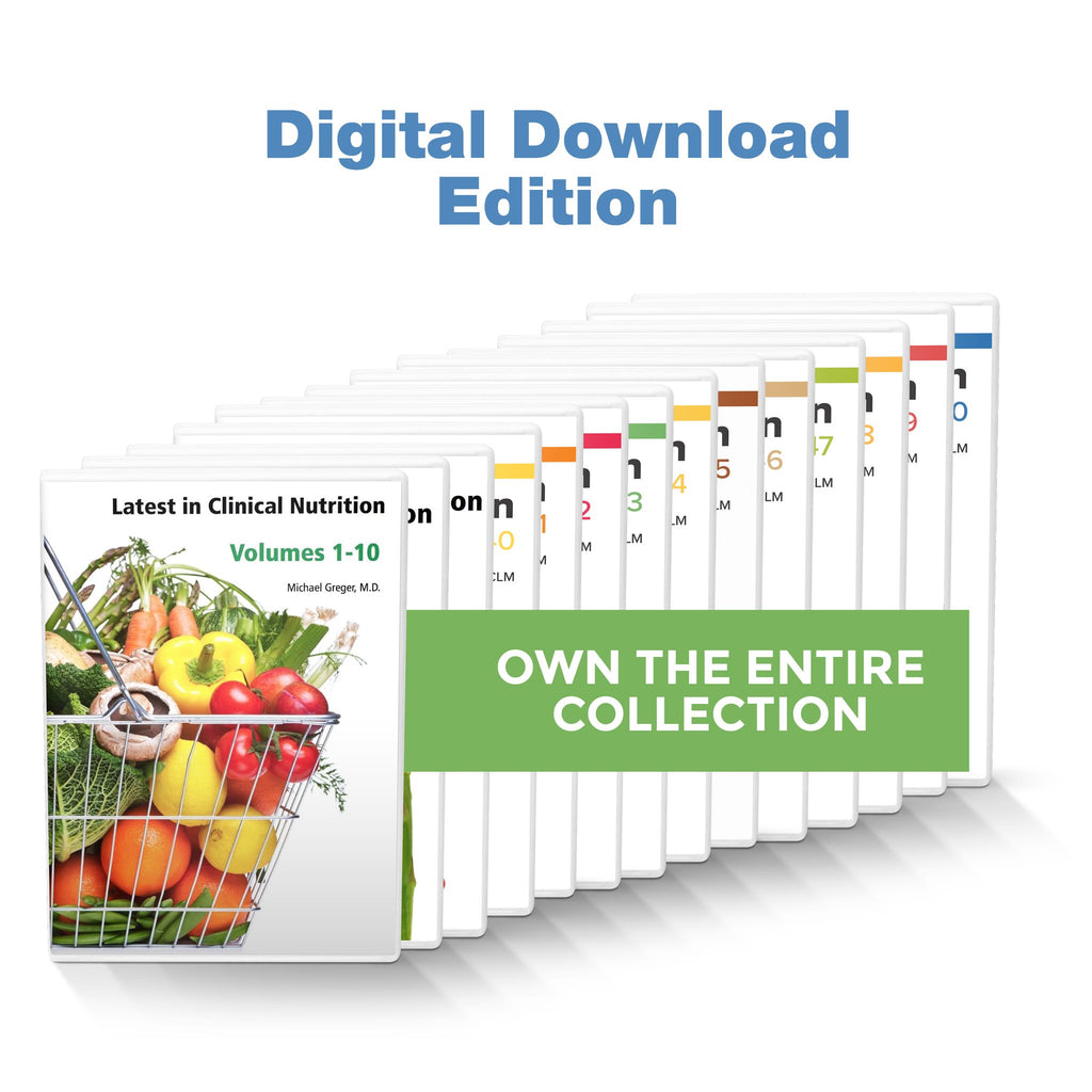 Complete Latest in Clinical Nutrition - Volumes 1-52 [Digital Download]