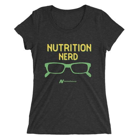 Ladies' Nutrition Nerd T-Shirt