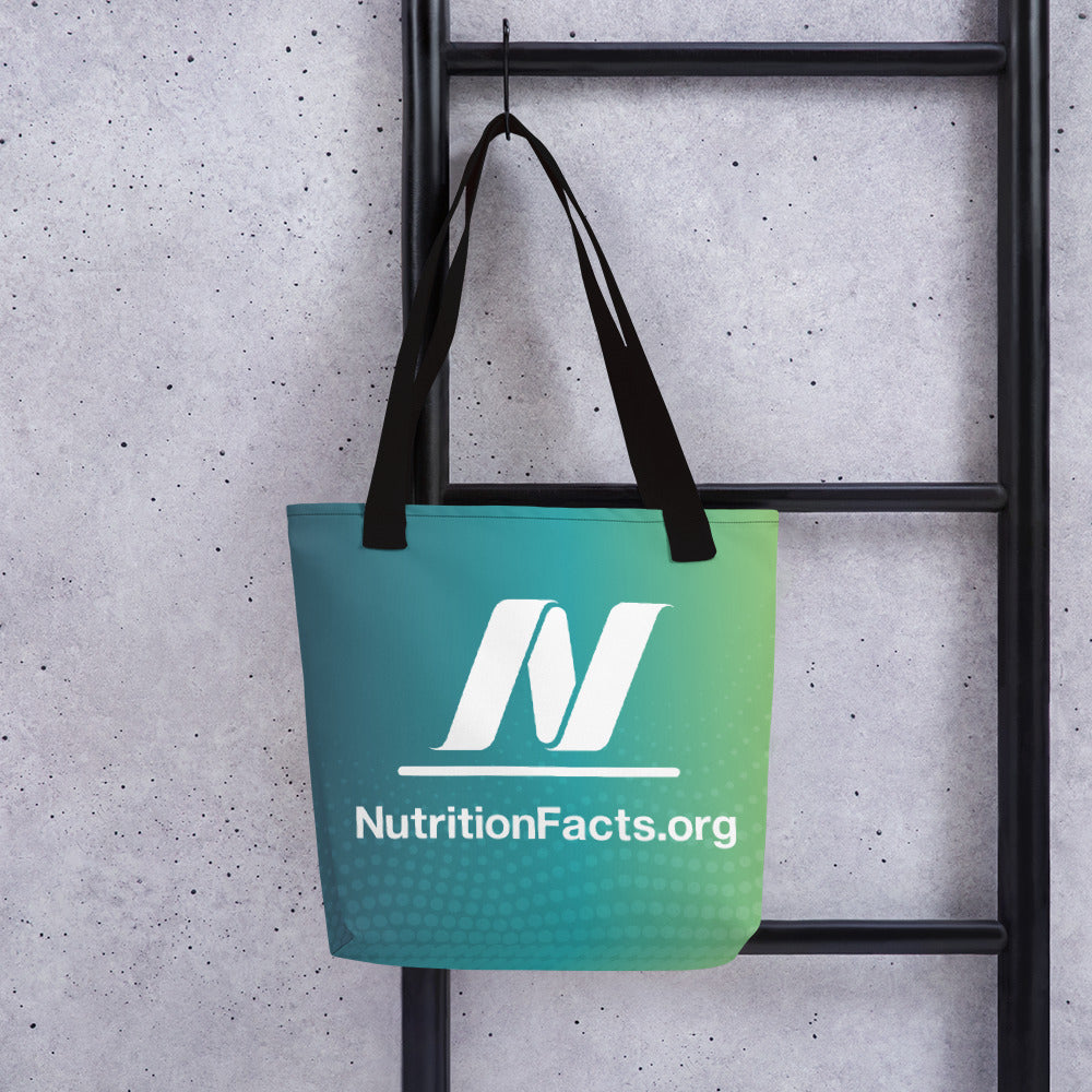 NutritionFacts.org Logo Tote Bag