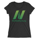 NutritionFacts.org Ladies' Form-Fitting T-Shirt