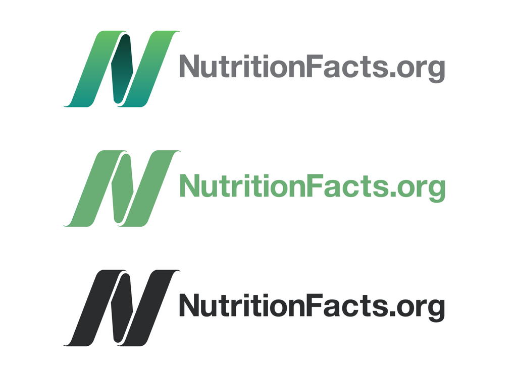 NutritionFacts.org Logo Kiss Cut Stickers