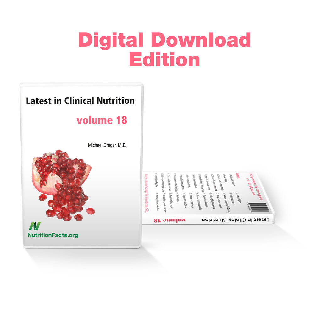 Latest in Clinical Nutrition - Volume 18 [Digital Download]