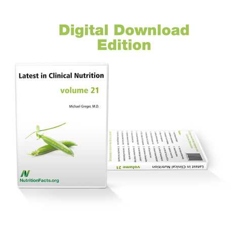 Latest in Clinical Nutrition - Volume 21 [Digital Download]