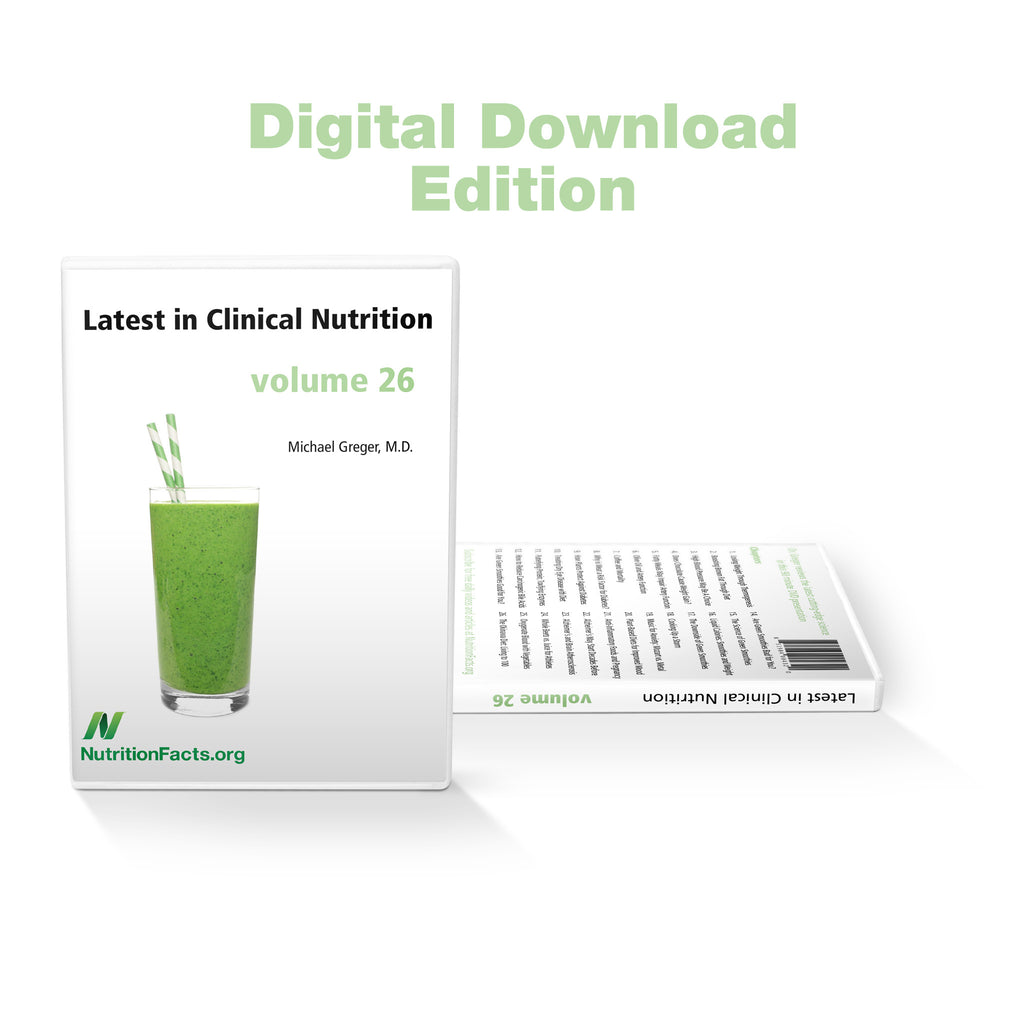 Latest in Clinical Nutrition - Volume 26 [Digital Download]