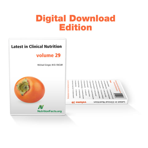 Latest in Clinical Nutrition - Volume 29 [Digital Download]