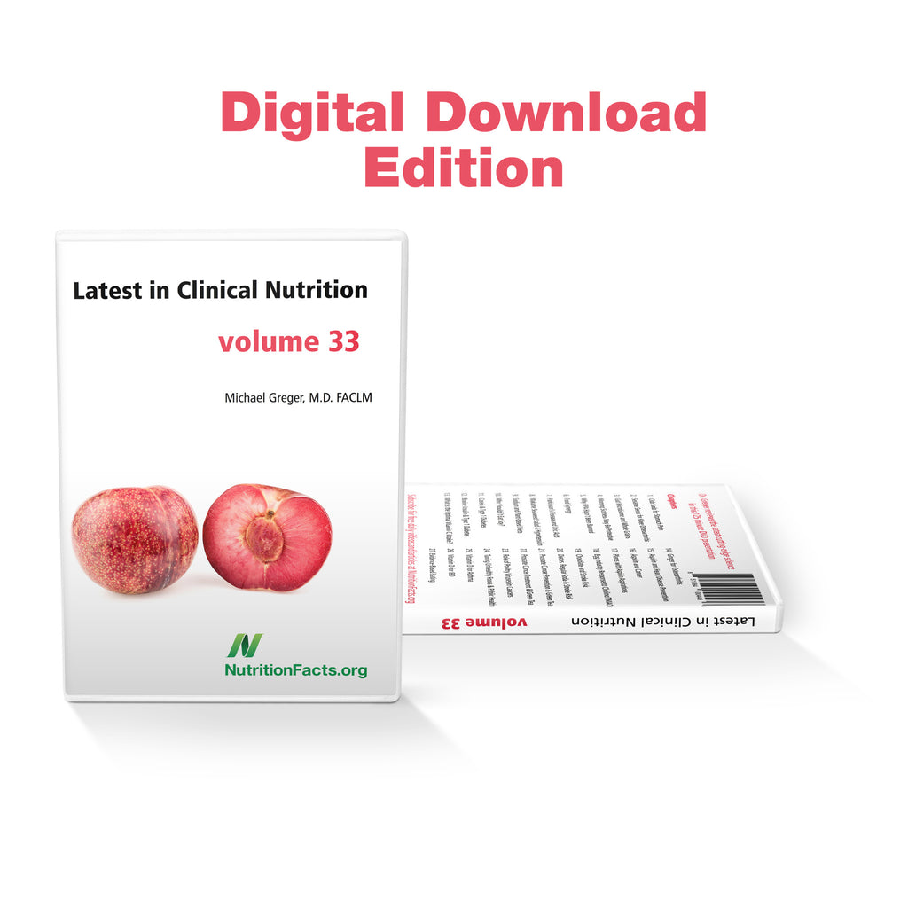 Latest in Clinical Nutrition - Volume 33 [Digital Download]