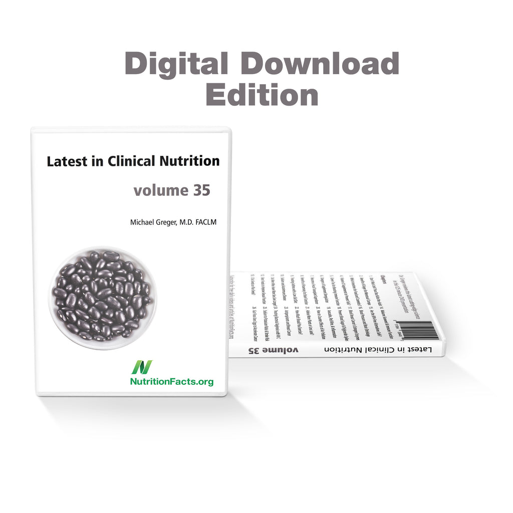 Latest in Clinical Nutrition - Volume 35 [Digital Download]