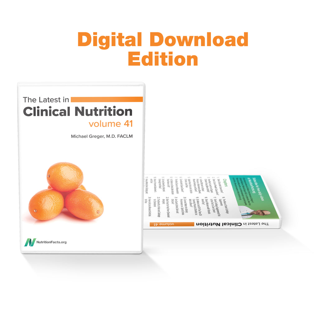 Latest in Clinical Nutrition - Volume 41 [Digital Download]