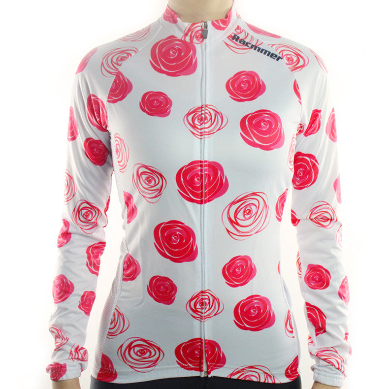 Roses 2 Cycling Jersey (Women's Long Sleeve)