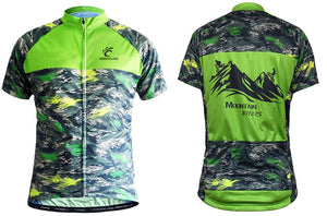 Mountain Bikers Short Sleeve Jersey