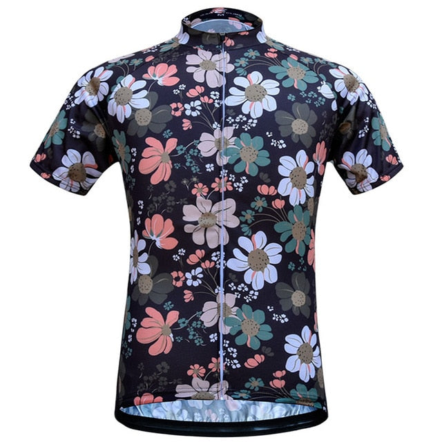 Flowers Short Sleeve Jersey