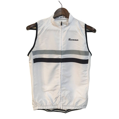 Striped Windbreaker Vest