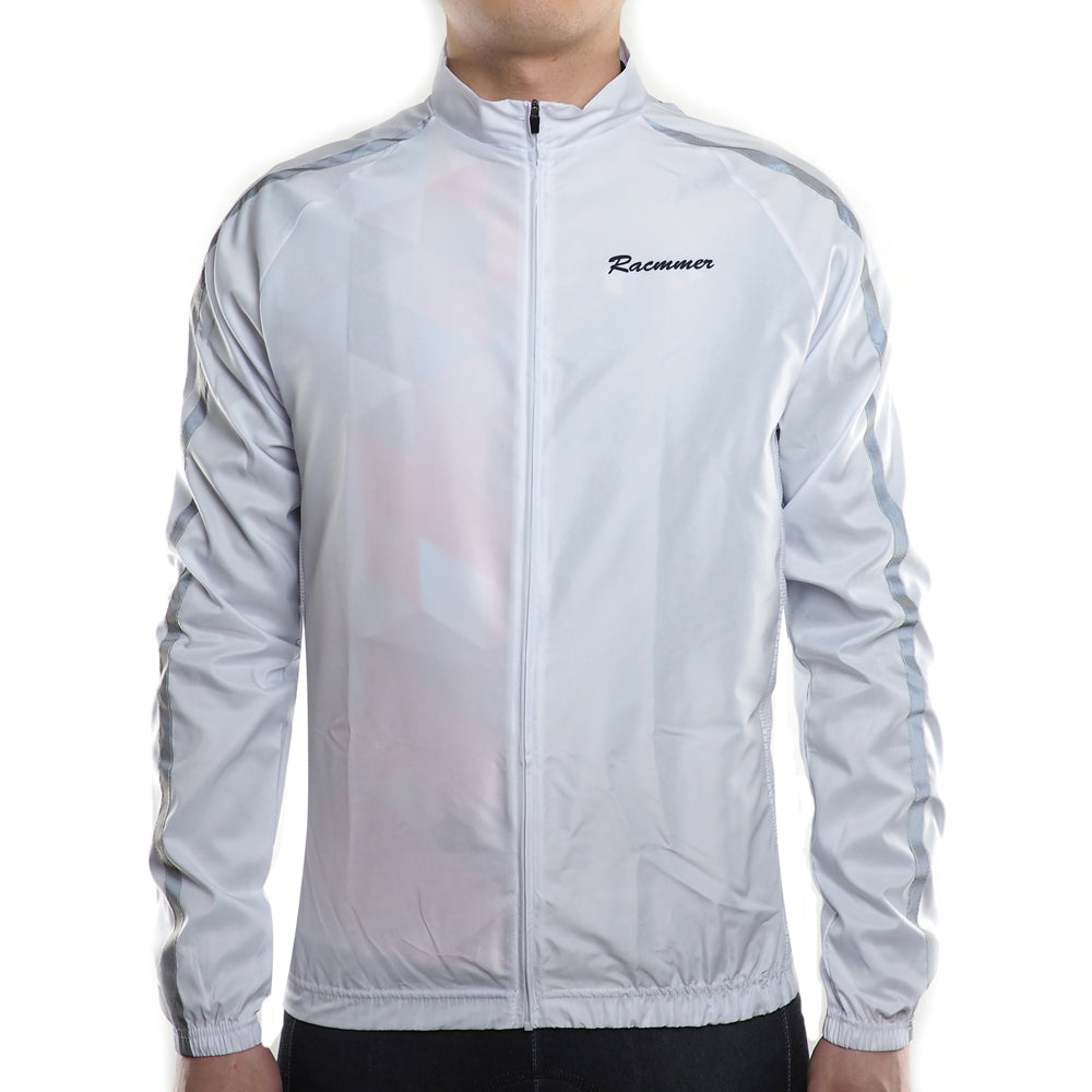 Double Striped Windbreaker Jacket