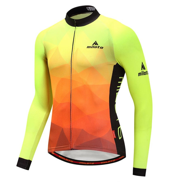 Sunrise Cycling Jersey (Long Sleeve)