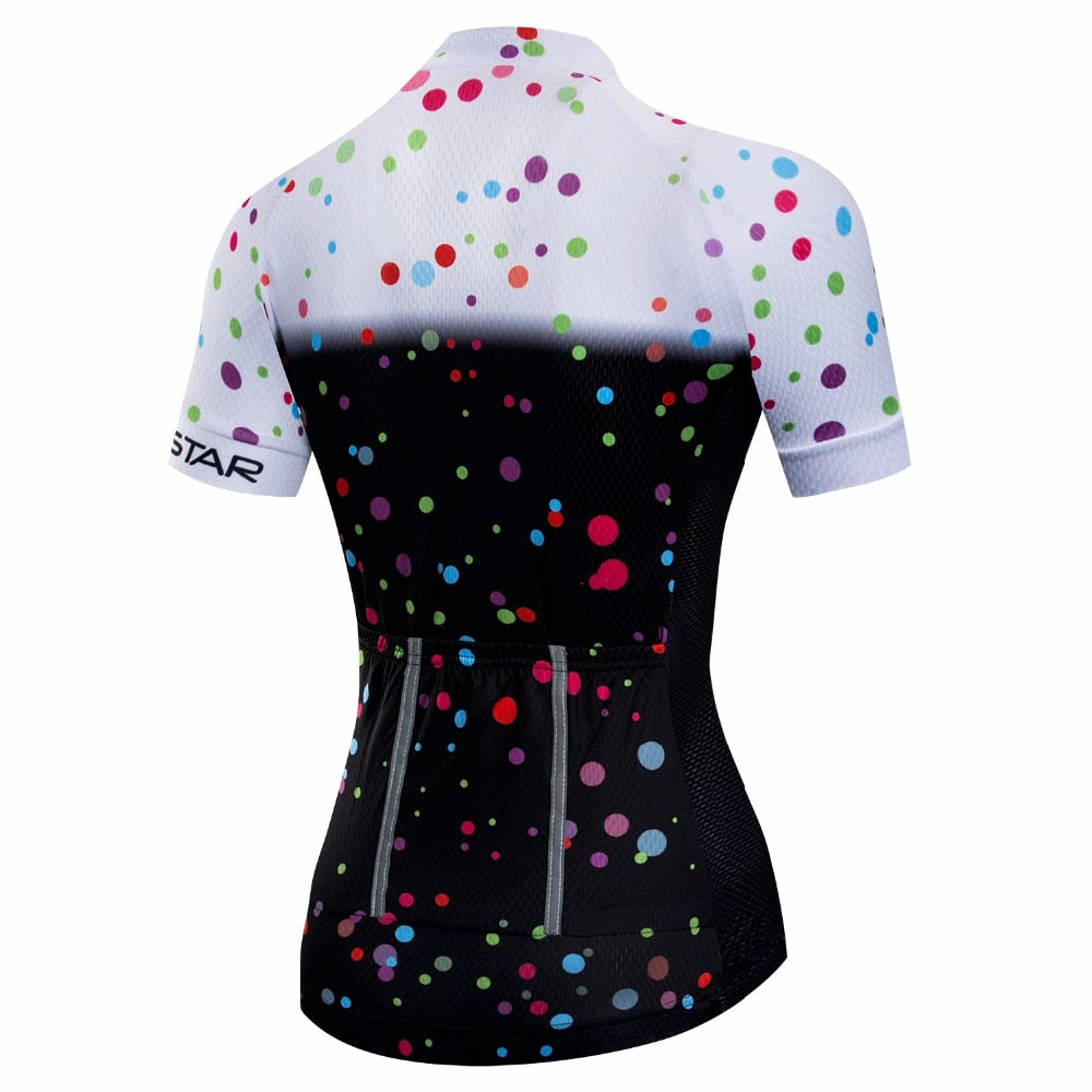 Dots Pro Cycling Jersey (Women's Short Sleeve)