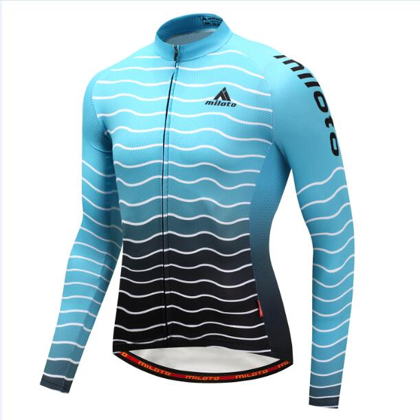 Aqua Wave Long Sleeve Cycling Jersey