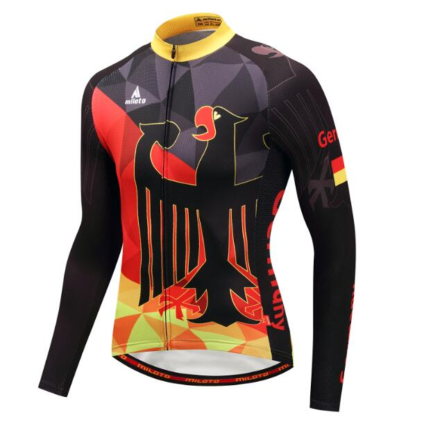 Falcon Long Sleeve Cycling Jersey