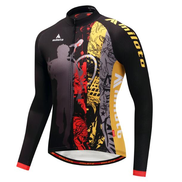 Animation Long Sleeve Cycling Jersey