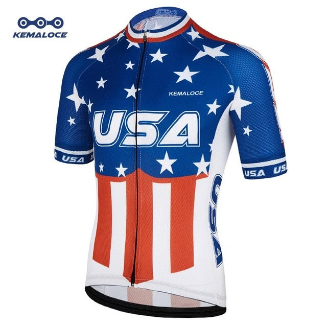USA Cycling Jersey (Short Sleeve)