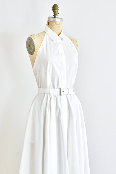 Norma Kamali OMO Button Up Dress - Pickled Vintage