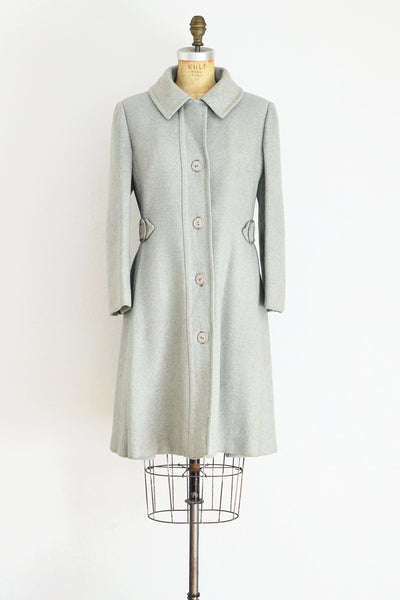 Seafoam Speckled Coat - Pickled Vintage