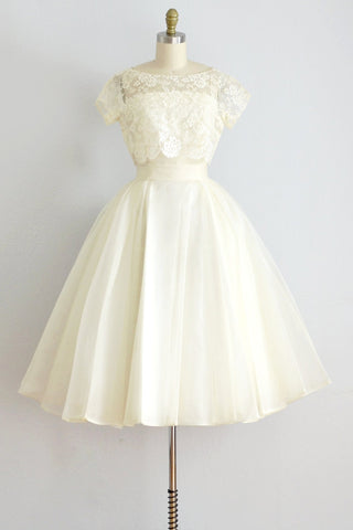 Blank Canvas Party Dress - Pickled Vintage