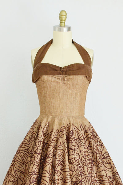 Tachi Castillo Dress - Pickled Vintage