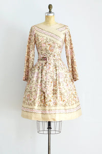 Floral Print Dress - Pickled Vintage
