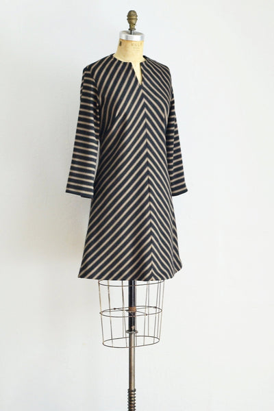 Chevron Stripe Dress - Pickled Vintage