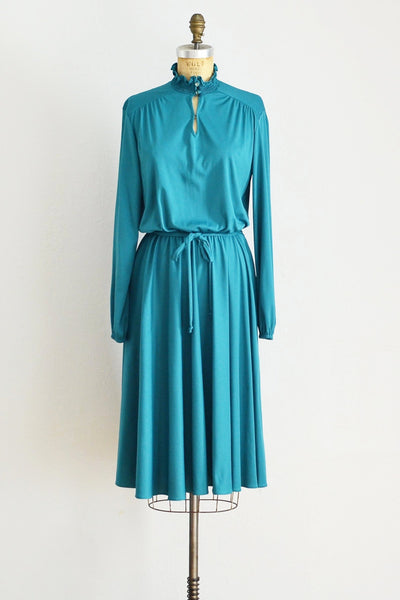 Teal Dress - Pickled Vintage