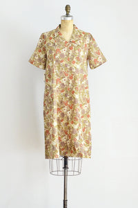 Autumnal Housedress - Pickled Vintage