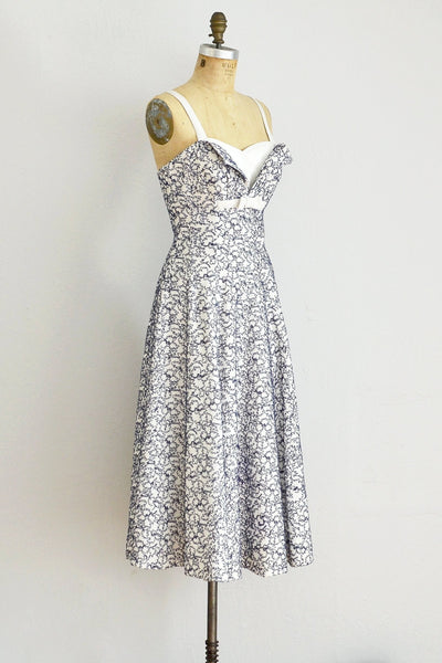 Soutache Crumb Catcher Dress - Pickled Vintage