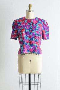 Full Bloom Blouse - Pickled Vintage