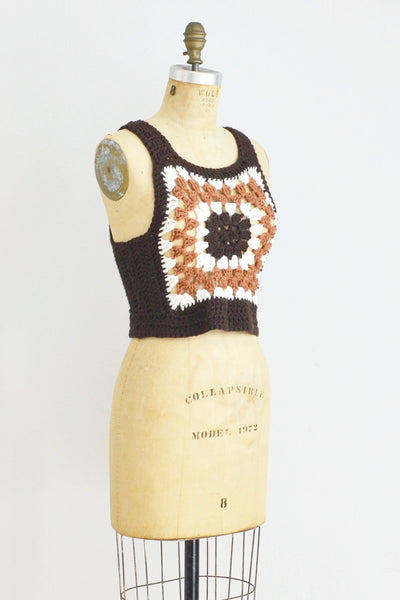 Crochet Tank Top - Pickled Vintage