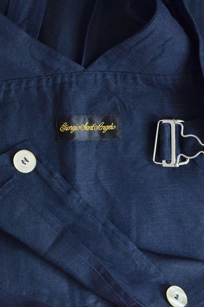 Reserved Navy Blue Jumper - Pickled Vintage