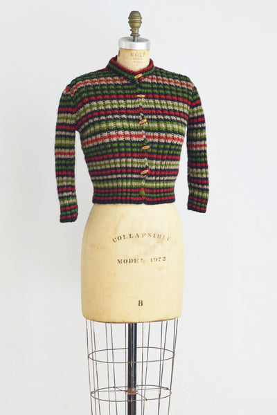 70s Cropped Sweater - Pickled Vintage