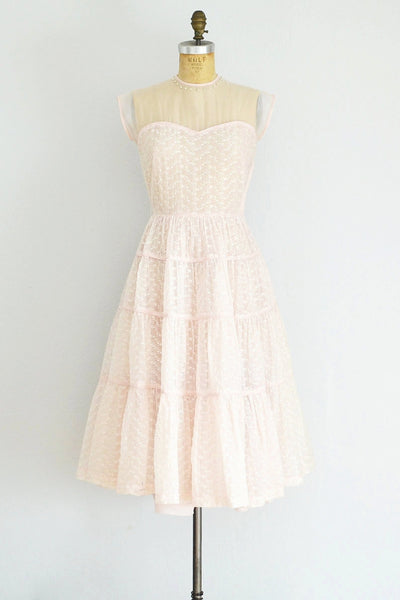 Pink Illusion Party Dress - Pickled Vintage